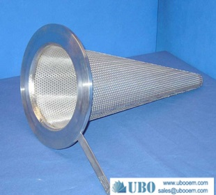 sintered mesh cone filter