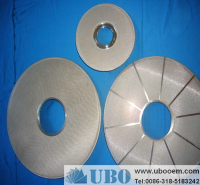 Pharmaceutical sintered wire screen filter