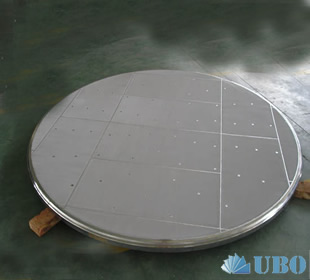 Pharmaceutical stainless steel sintered screen filter panel