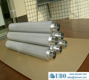 Pharmacy steel sintered net filter
