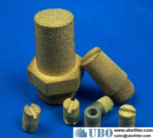 Copper sintering sound absorber