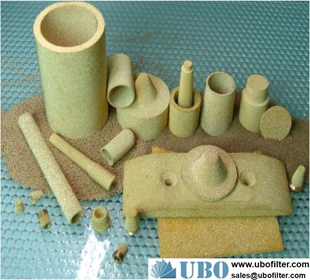 Copper powder sintered filters