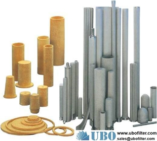 Powder Sintered Bronze 316L Stainless Steel Element Filter