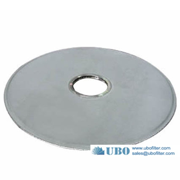 stainless steel metal leaf disk filter