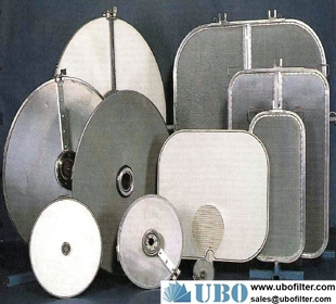 synthetic processing 316L filter disc of sintered mesh