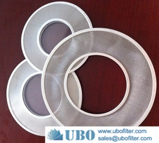 stainless steel gravity water filter disc