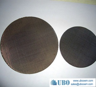 Laminated Stainless Steel Sintered Round Filter Disc