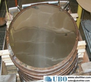 multi-layers sintered filter disk
