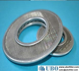 2um Stainless Steel Disk Filter for Chemical Industry