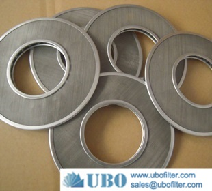 round micron stainless steel filter disc