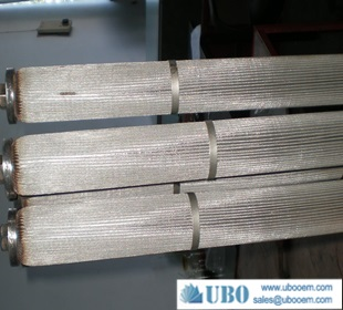 Stainless Steel Filter Cartridge for High Pressure Filtering