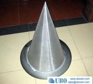 Temporary Cone Shaped Strainer