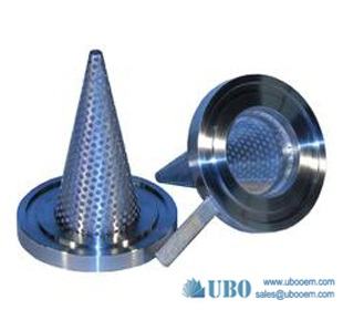 truncated conical strainer