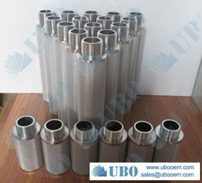 Cleanable Stainless Steel Sintered Fiber Web Filter Element