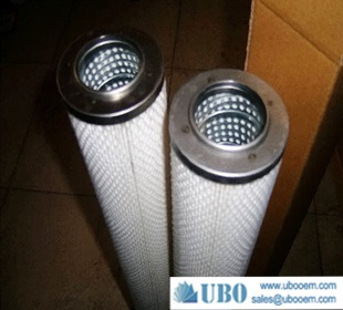 cleanable stainless steel metal fiber felt filter