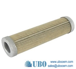 waste oil treatment filter in vacuum pump