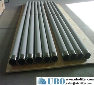 stainless steel metal fiber felt filter